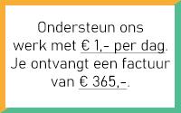 € 1,- Hulppartner