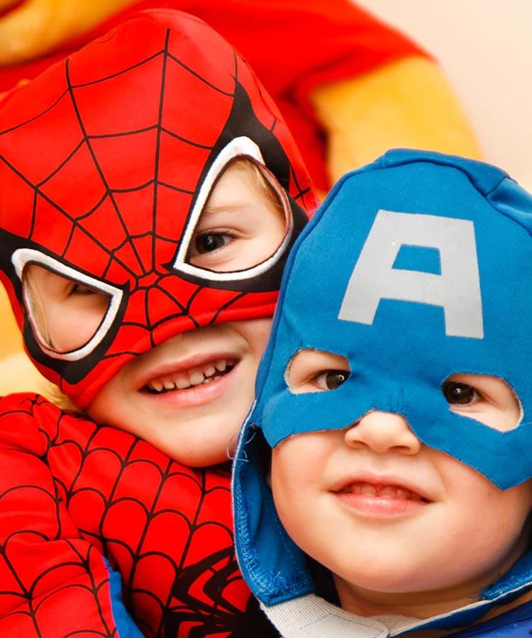 Geven om te Delen - Kinderen superhelden
